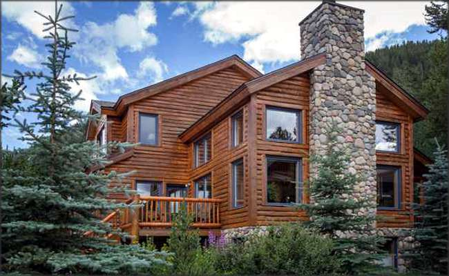 Spectacular home for sale in keystone keystone for Keystone colorado cabins